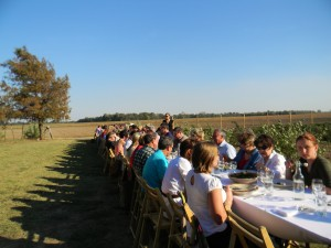 Dinner at Whitton Farms Photo by Deborah Fagan Carpenter