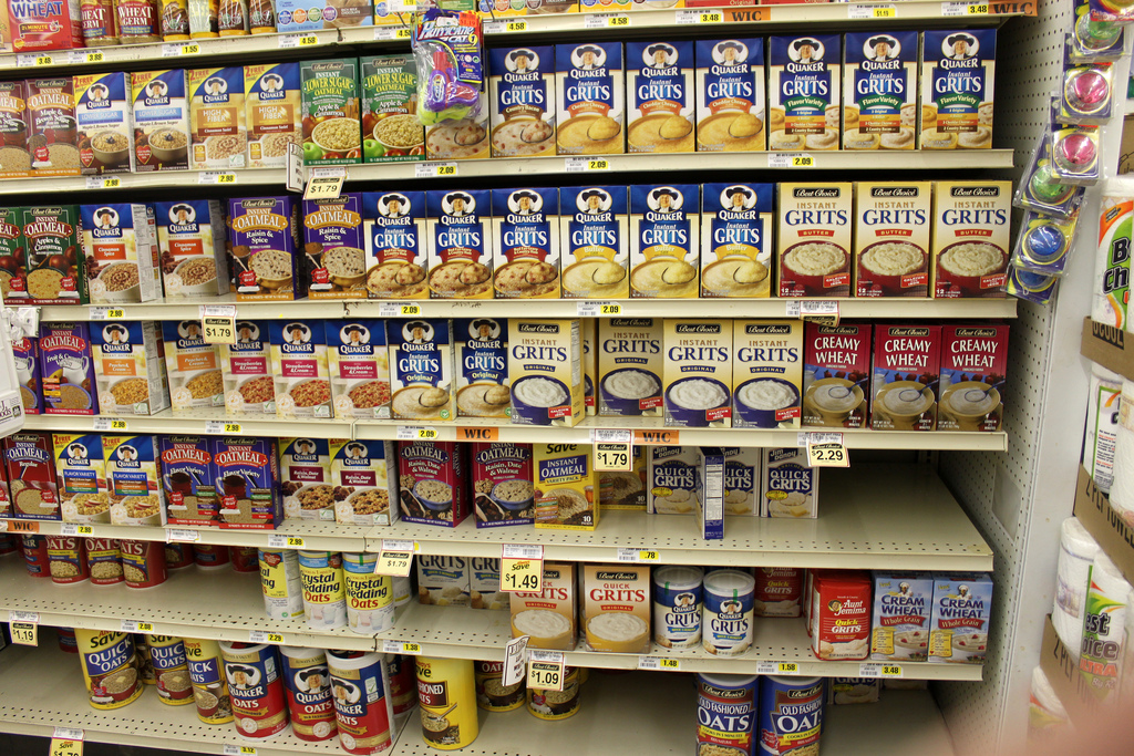 Wall O' Grits photo by milfodd via www.creativecommons.com