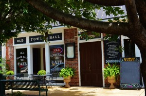 Old Town Hall Cafe photo by Deborah Fagan Carpenter