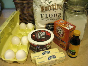 pound cake ingredients