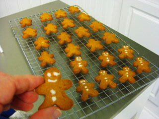 5.gingerbread men